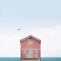 Lonely Houses: Sejkko's Surreal Photos of Traditional Portuguese Homes,Courtesy of Sejkko