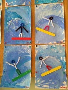 Winter Crafts For Kids, Summer Crafts, Art For Kids, Summer Art, Craft Activities For Kids, Preschool Crafts, Projects For Kids, Daycare Crafts, Toddler Crafts