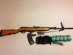 Yugo SKS numbers matching plus ammo! is available at $425.00 USD