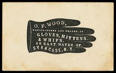 Trade card (Sheaff collection)