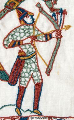 Bayeux Tapestry Archer