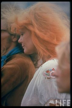 Unnaturally Colored Hair | 25 Groovy Trends Spotted From Woodstock Festival Street Style