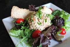 Healthy Garden Tuna Salad with Balsamic Vinegar – Summer Bikini Ready Recipe....Move over boring tuna salad – My healthy tuna salad is moving in. It's packed with fresh vegetables and not loaded down with a ton of mayonnaise so it's a leaner option to the traditional version.