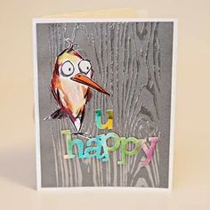 Scrap Shotz Snap Shotz: Fabulous Find: Tim Holtz Crazy Bird