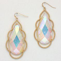 Vitrail Opalescence earrings