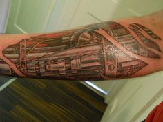 intricate robot tattoo - Google Search