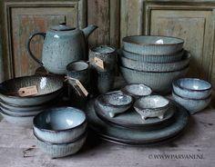 Parvani | Servies-grijs-groen-Broste-Scandinavisch