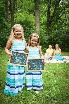 Family photography ♥ I need chalk boards!