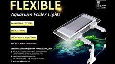 GAKO AQUARIUM FACTORY Led Aquarium Lighting, Aluminium Alloy, Save Energy, Remote, Bubbles, Lights, Highlight, Aquarium Led Lighting, Light Fixture
