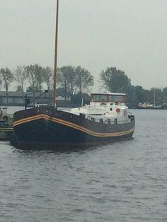 Boot bij redoute