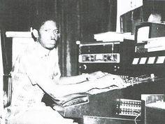 "Winston ""Professor"" Brown at King Tubby's Studio"
