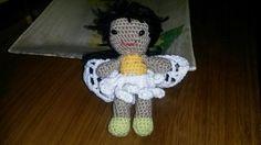 Hada campanilla  a crochet