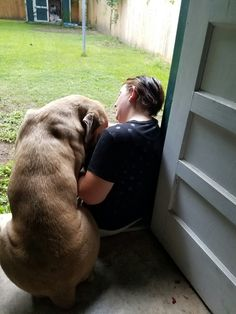 Cane Corso, Hazel -Rah and his mommy!