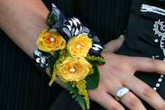 How to make a corsage!! Much cheaper than paying a florist! (for future reference)