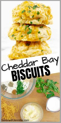 Flaky, buttery, herb filled, and golden, these Italian Herb Garlic Cheddar Biscuits from scratch are so quick and easy and yet so full of flavor and BETTER then Red Lobster! They are ready from start to finish in under 30 minutes. Better then that seafood restaurant, this scratch-made side item will be the piece de resistance of your meal! #savorwithjennifer #cheddarbay #biscuits #garliccheddar Garlic Cheddar Biscuits, Cheese Biscuits, Best Vegetarian Sandwiches, Awesome Recipe, Pescatarian Recipes, Red Lobster, Seafood Restaurant, Other Recipes, Recipe Box