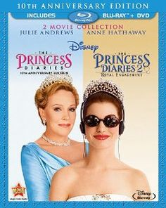 Julie Andrews & Anne Hathaway & Garry Marshall-The Princess Diaries: 2 Movie Collection Two Movies, 2 Movie, Love Movie, Great Movies, Movies To Watch, Awesome Movies, Family Movies, Iconic Movies, Comedy Movies
