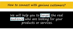 We will help you to make more #business by #target #real #audience. Email us at info@seooper.com to know more.