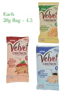 Velvet Crunch Gourmet Bites Slimming Wirld, Asda Slimming World, Slimming World Syns List, Slimming World Syn Values, Slimming World Treats, Slimming World Recipes, Syn Free, Pretty Packaging, Food Lists
