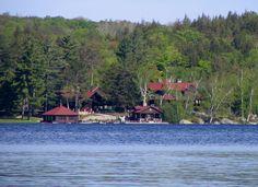 upper saranac lake | File:Upper Saranac Lake - Camp on Southwest shore.jpg - Wikipedia, the ...