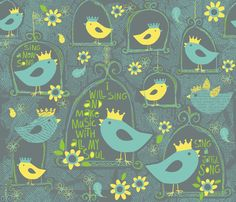 WITH ALL MY SOUL fabric by bzbdesigner on Spoonflower - custom fabric