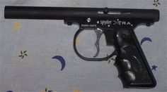 410 Pistol made from paintball gun