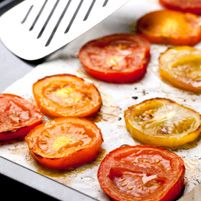 Oven-Roasted Tomatoes - Dr. Weil's Healthy Kitchen#.U028UVuWeNU.facebook