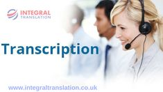 Why do you require #transcription #services?