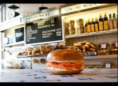 A Russ & Daughter's Bagel! Zagat: New York's 9 Most Iconic Dishes (PHOTOS)