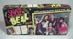 Saved By The Bell Board Game TV Show Rare Vintage 90s Fun Pressman 1992 Zack and Slater Complete. $19.95, via Etsy.