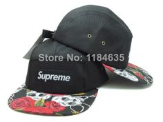 0734e2e652 2014 new supreme 5 panel baseball snapback hats and caps for men fashion spring  summer hat
