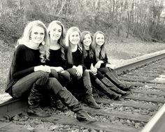 Girl group poses Senior girl groups Best friends and senior year Tonia B Breeding Photos