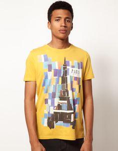 ASOS T-Shirt With Paris Collage Print
