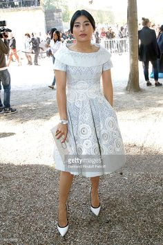 Princess of Thailand Sirivannavari Nariratana attends the Elie Saab show as part of the Paris Fashion Week Womenswear Spring/Summer 2016 on October 3, 2015 in Paris, France.