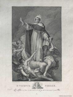 [San Vicente Ferrer]. López Enguídanos, Tomás 1773-1814 — Grabado — 1810
