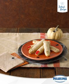 Who knew a recipe so spooky could be so delicious? Bake a batch of these Witch's Finger Cookies, and you're sure to turn your kids' party into a Halloween smash.