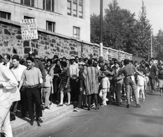 Girard College Wall, the Integration march.
