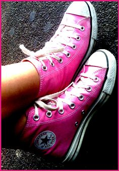 Pink converse for danielle