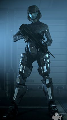 Halo Spartan Armor, Halo Armor, Halo 3 Odst, Halo Game, Halo Reach, Robot Girl, Sexy Drawings, Hero Costumes, Ulzzang Korean Girl
