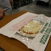 Our Gluten-Free pizza is completely safe from cross-contamination.