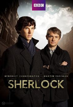 Martin Freeman and Benedict Cumberbatch in Sherlock Sherlock Holmes, Sherlock Series 3, Sherlock Poster, Sherlock Season 3, Watch Sherlock, Tv Series To Watch, Movies And Series, Best Series, Movies And Tv Shows