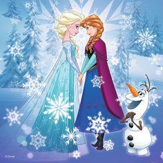 Elsa-Anna-and-Olaf-elsa-and-anna-39254037-500-500.jpg (500×500)