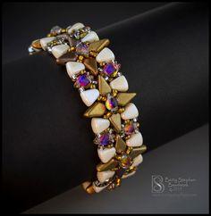 Beading Patterns Free, Beading Tutorials, Jewelry Patterns, Bracelet Patterns, Weaving Patterns, Bead Patterns, Beaded Jewelry, Beaded Necklace, Beaded Bracelets