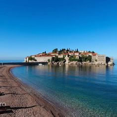 Sveti Stefan, Montenegro. Photo courtesy of dr_iroshinichua on Instagram.