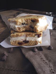 Paleo/Primal Cookie Dough Whoa Ice Cream Sandwiches! #CleanEatingWithADirtyMind