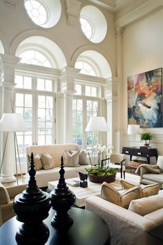 living room or family room  luxe + lillies