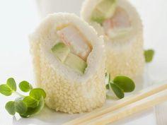 Sushi auf italienische Art mit Weißbrot, Avocado und Garnele ist ein Rezept mit frischen Zutaten aus der Kategorie Garnelen. Probieren Sie dieses und weitere Rezepte von EAT SMARTER!