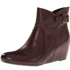 """Franco Sarto NEW Women's Irvine Boots in brown Franco Sarto Women's Irvine Brown Booties. Size 8.5. New without tags. 100% leather, man made sole, shaft measures approx 5.5"""" from arch, heel measures approx 2"""". Inner side has zip closure, outer side has buckle detail. PERFECT CONDITION!! Franco Sarto Shoes"""