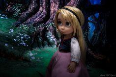 https://flic.kr/p/Ahbz52 | Eilonwy animator Disney doll ooak repaint gurki Poupee raiponce rapunzel custom repeinte the black cauldron taram et le chaudron magique princess