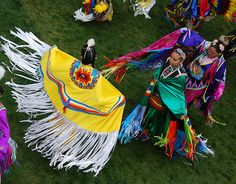 Powwows in the Catskills. Went to at least 1 every summer...beautiful.