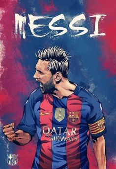 Lionel Messi FC Barcelona - Neymar Jr's Five - Football Messi Vs Ronaldo, Messi 10, Cristiano Ronaldo, Messi Fans, Lionel Messi Barcelona, Barcelona Football, Madrid Barcelona, Soccer Art, Football Art
